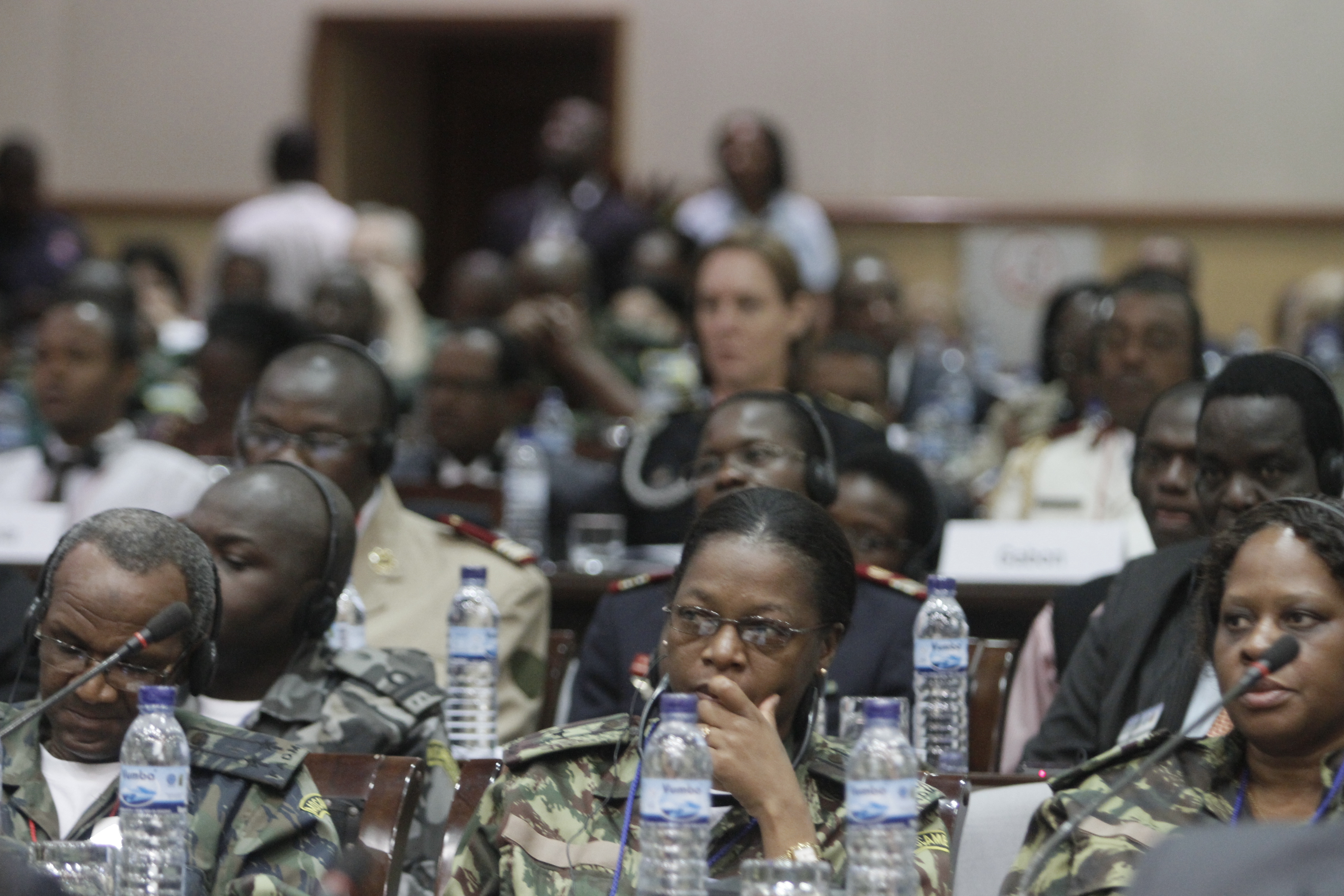 Military and civilian delegates and subject matter experts from 77 nations gathered for the 2012 International Military HIV/AIDS Conference in Maputo, Mozambique. (USAFE AFAFRICA/Flickr)