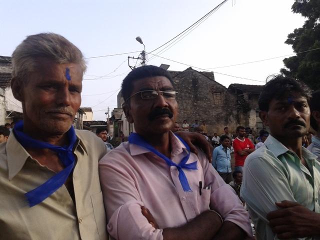 Bhupat Rathod had adopted Buddhism at the Junagadh rally of 2013, and wants Una Dalits to convert too.