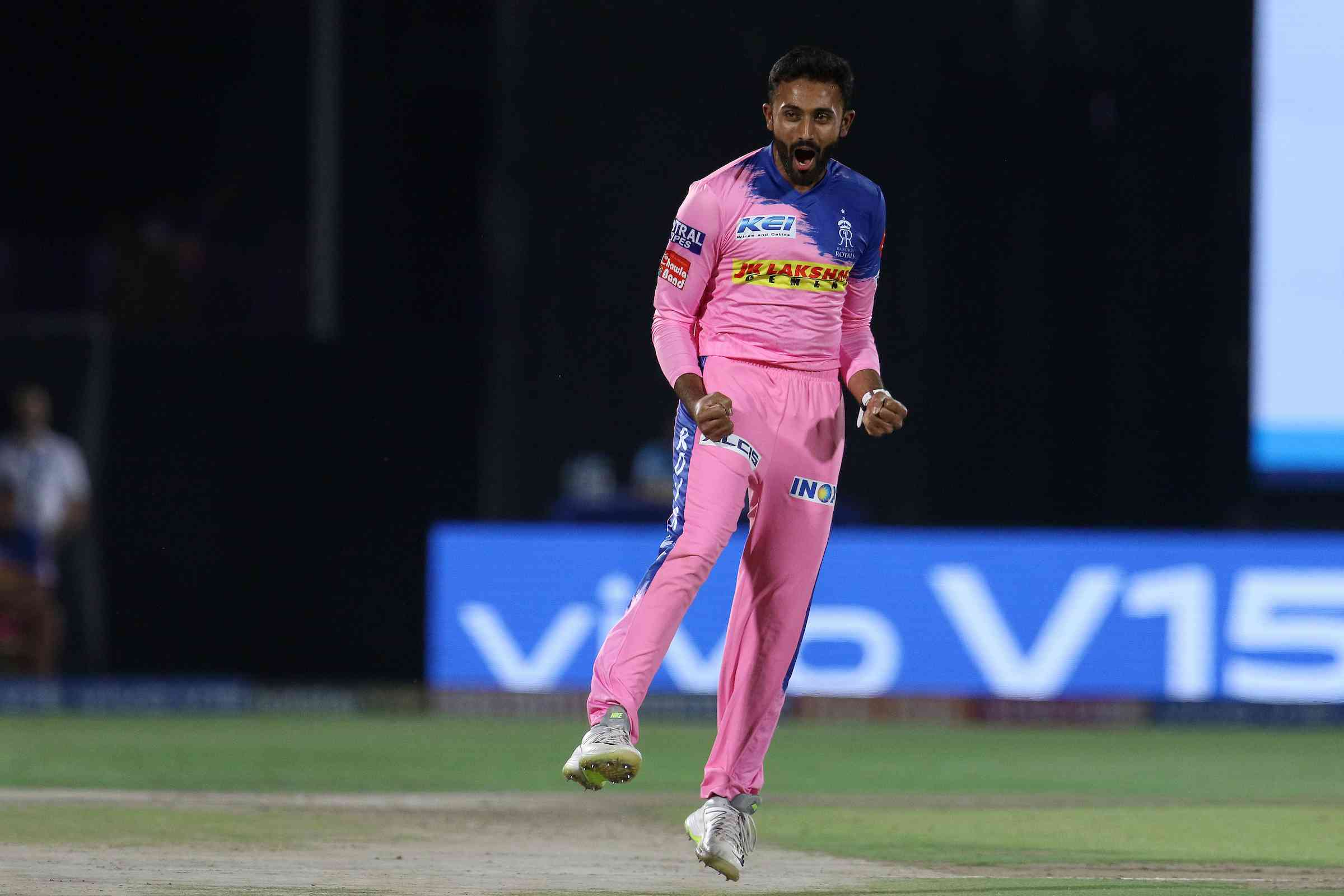 Shreyas Gopal during IPL 2019 – Faheem Hussain / Sportzpics for BCCI