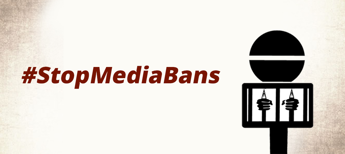 #StopMediaBans: A joint statement by Indian news organisations
