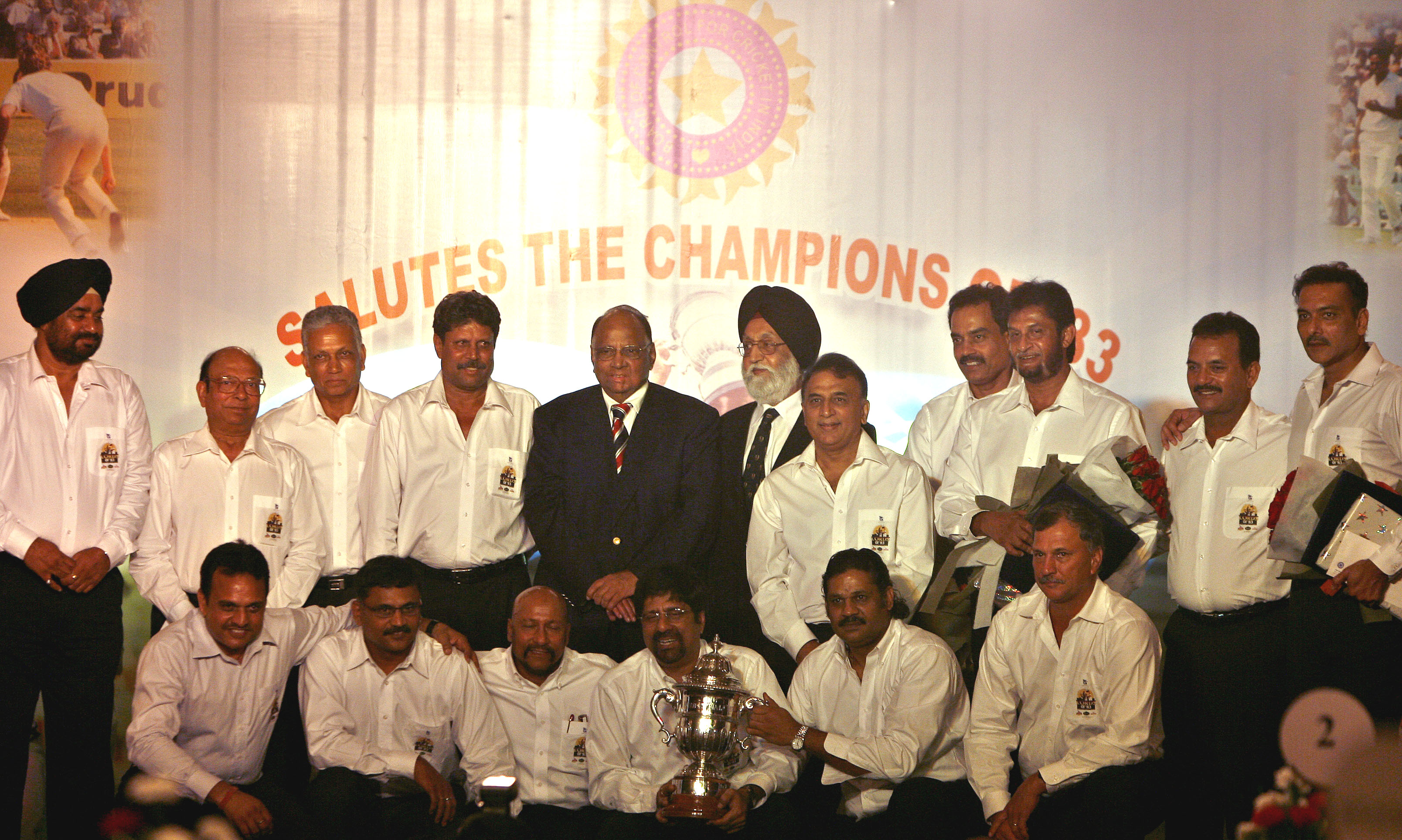 File photo from Team India's reunion in 2008 / AFP