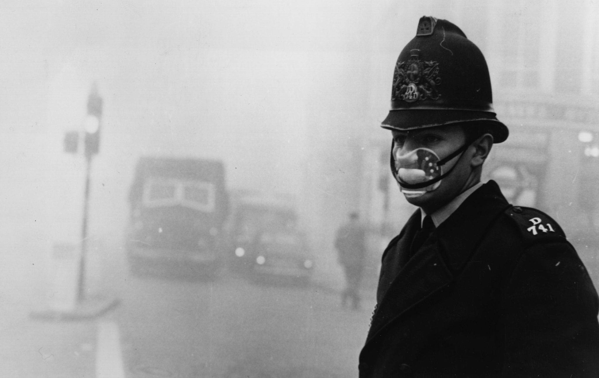 The Great Smog of 1952 engulfed London for days and is believed to have killed 12,000 people.