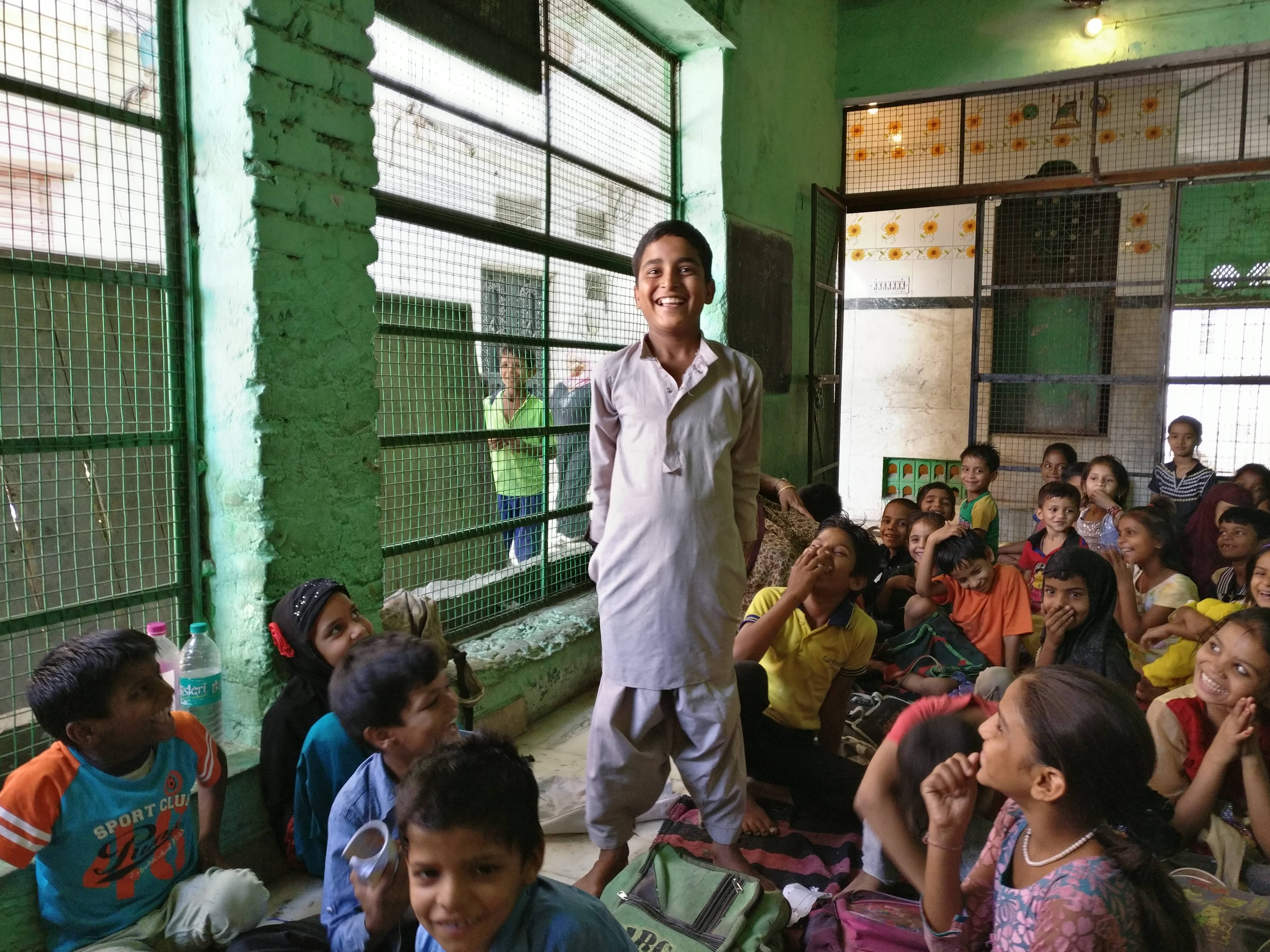 Rayan Qureshi moved to the already crowded dargah school at Haji Colony after his own school merged with another.