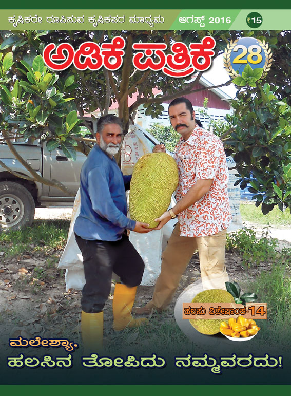 A special jackfruit issue of 'Adike Patrike'. Photo courtesy: Adike Patrike