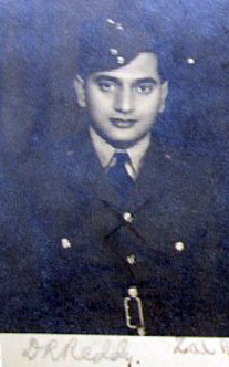 Flying Officer Dodla Ranga Reddy. Photo courtesy: Bharat-Rakshak.com.