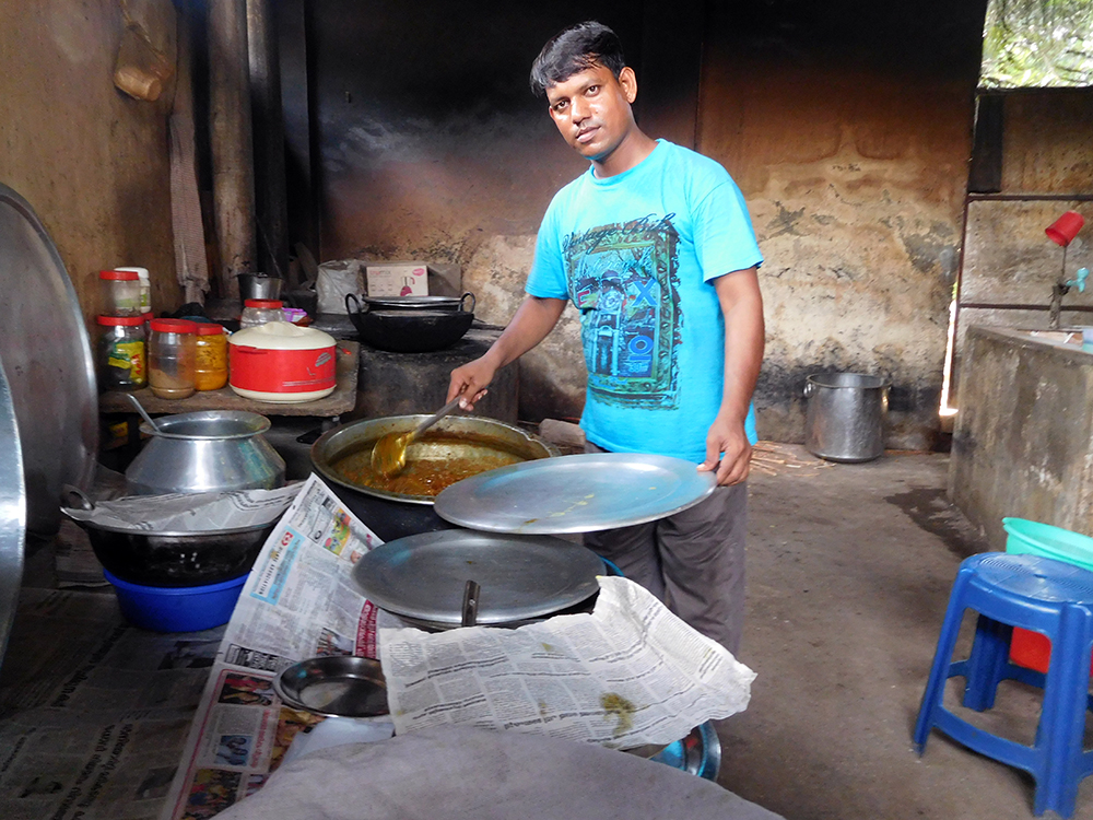 Akhtarul Islam who runs a restaurant in Perumbavoor. Photo credit: TA Ameerudheen