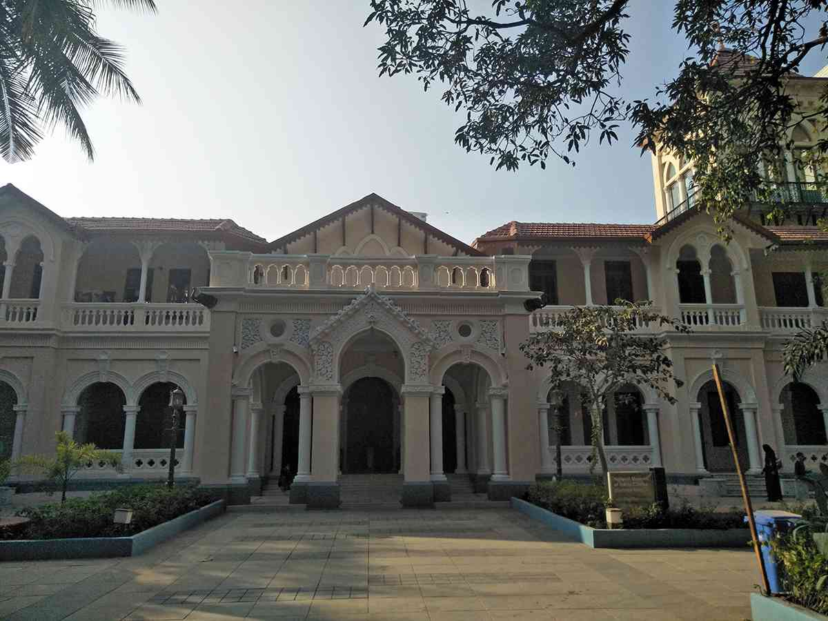 Gulshan Mahal, which houses Phase 1. Courtesy Urmi Chanda-Vaz.