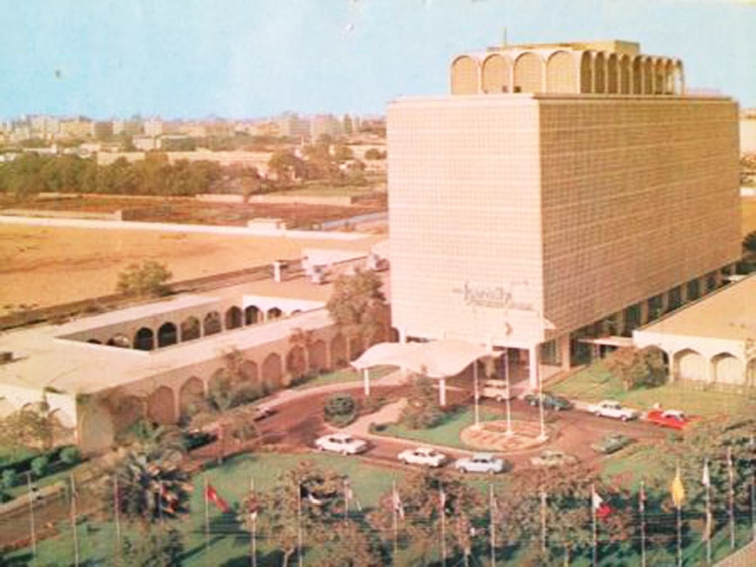 The Intercontinental Hotel, 1966.