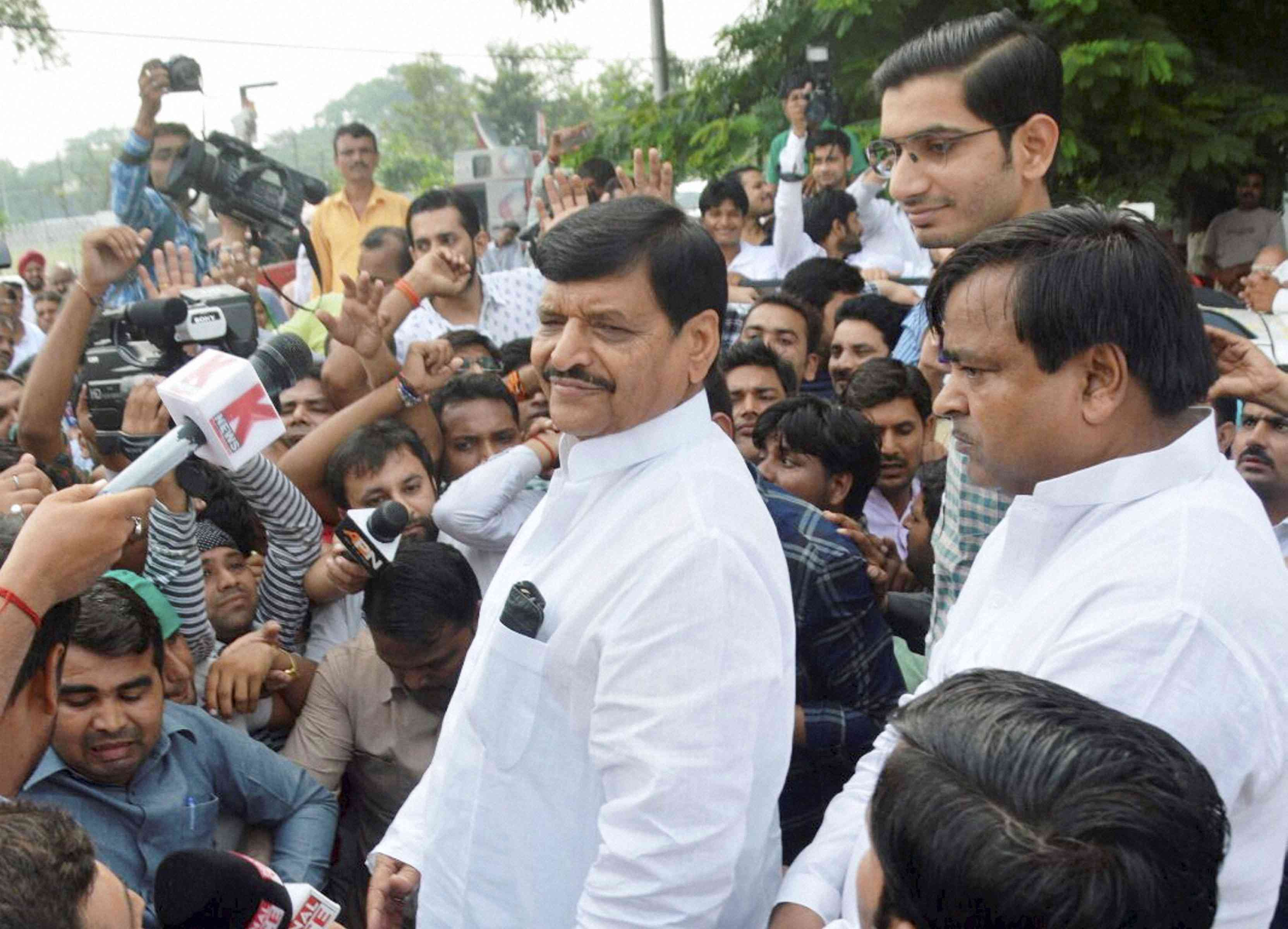 Shivpal Yadav. (Photo credit: PTI).