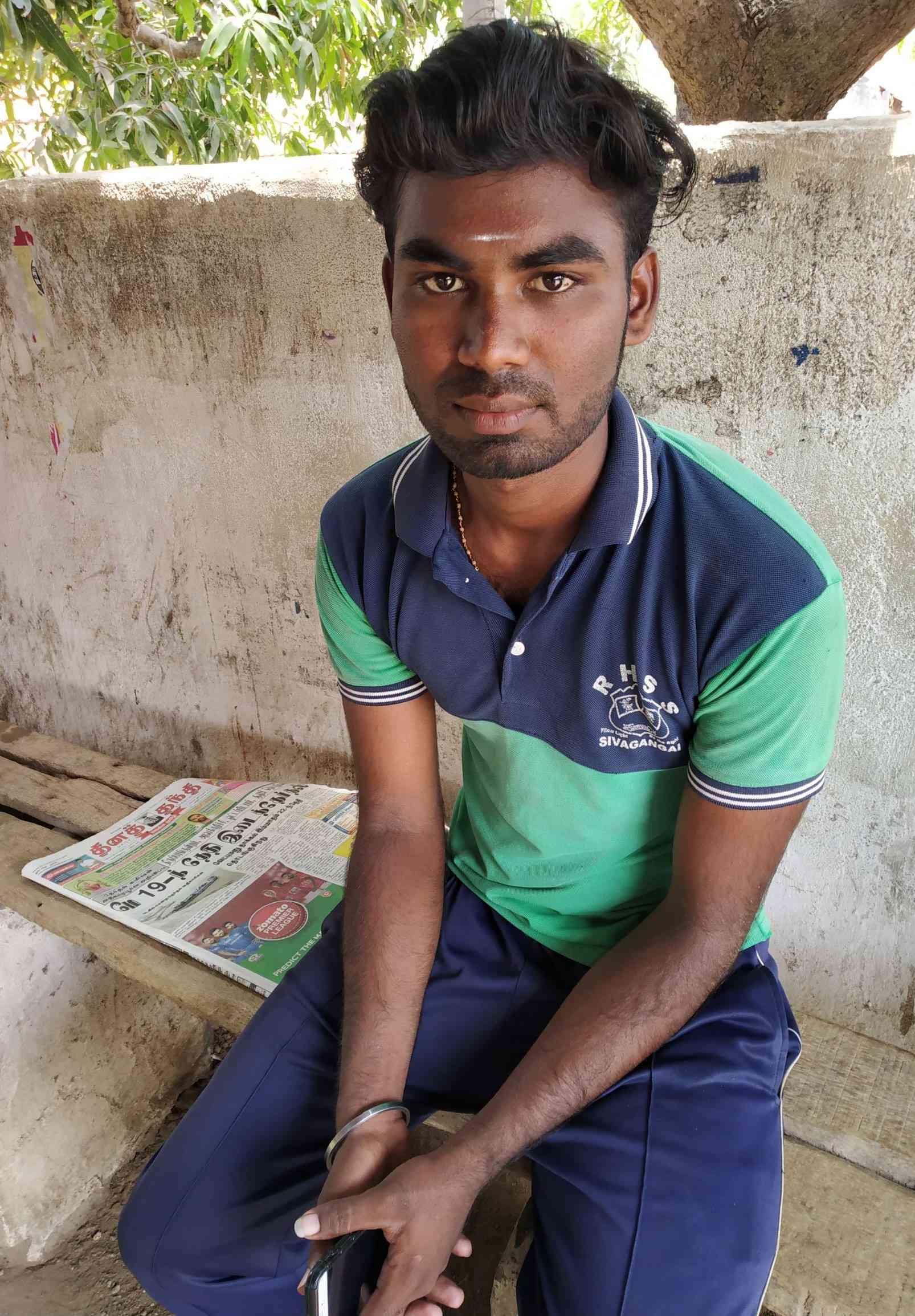 Karupasamy will opt for NOTA in this election. Photo credit: Sruthisagar Yamunan