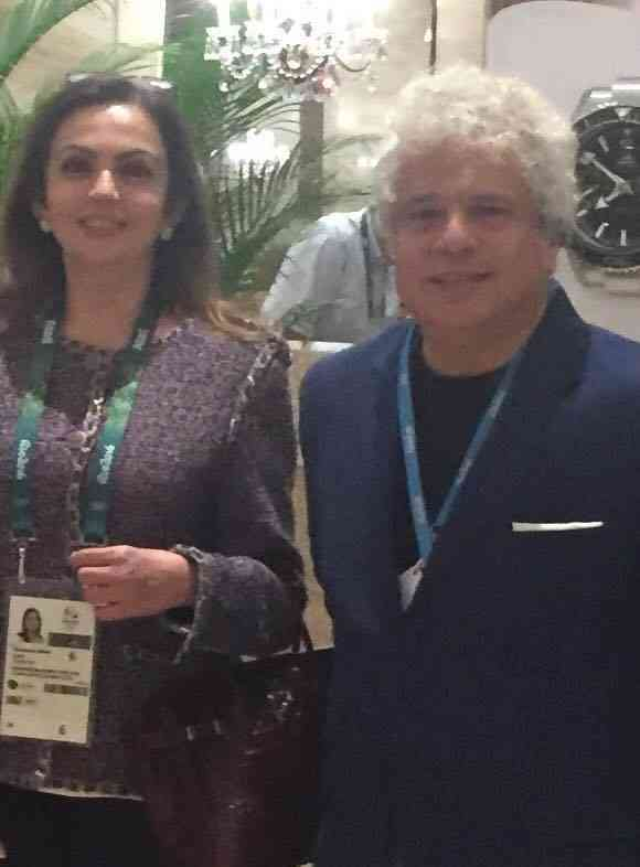 With Nita Ambani. Image courtesy: Facebook/Suhel Seth. August 21, 2016