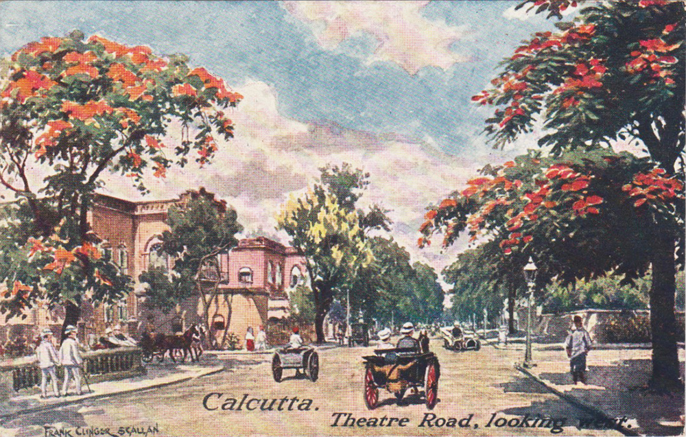 Theatre Road, looking west. Source: Author's personal collection