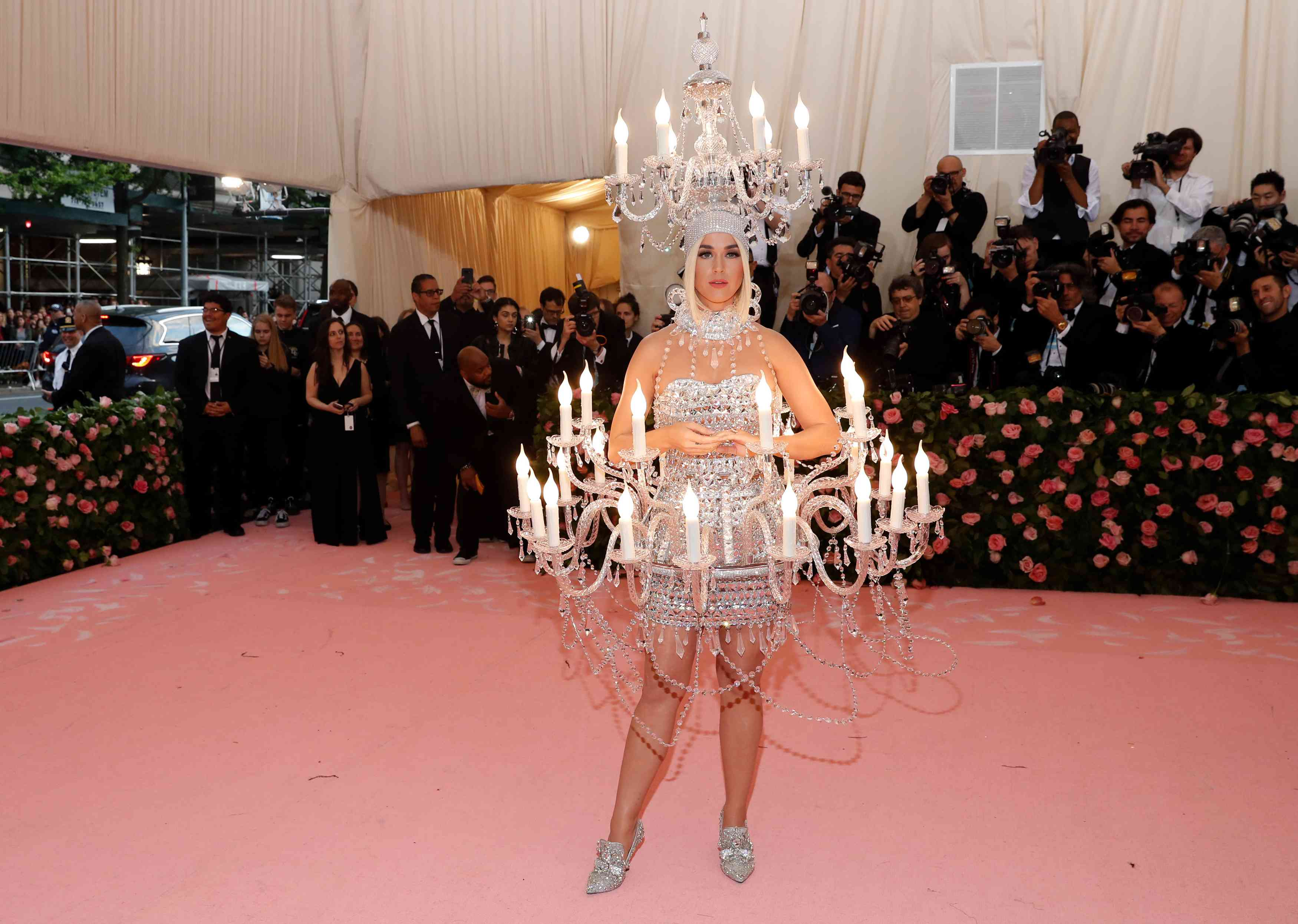 Katy Perry at the Met Gala 2019 | Image credit: Andrew Kelly / Reuters