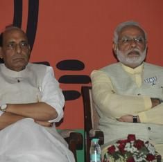 Rajnath's outburst shows he knows his days are numbered, say BJP insiders