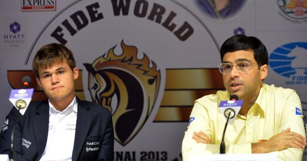 Anand to meet Carlsen in round nine of Tata Steel Masters Chess