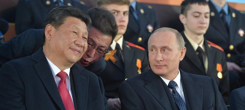 China is outflanking Russia in the struggle to woo Europe