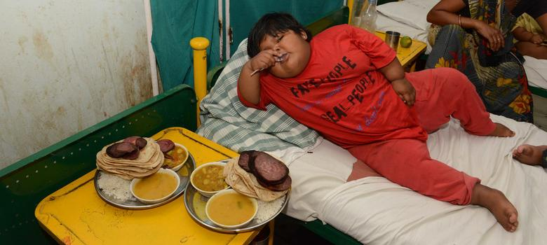 Middle class children in Delhi are fat – and undernourished