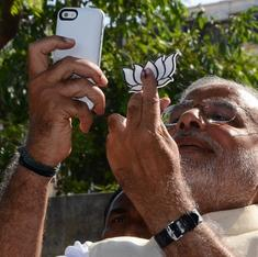 Why is India suddenly taking selfies of its ink-stained fingers?