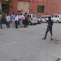 As Clean India drive sweeps off, bureaucrats grumble about losing their day off