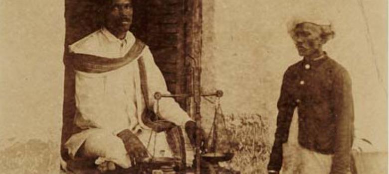 Photos from the British report that saved Holi thandais from a ban in 19th century India
