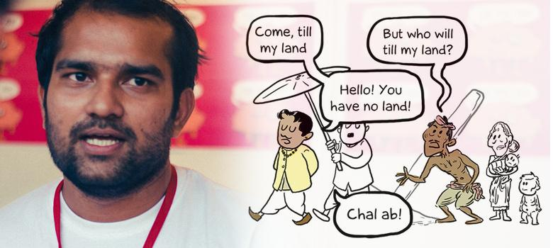 First person: Graphic novelist Sumit Kumar on making recent Indian history engaging and fun