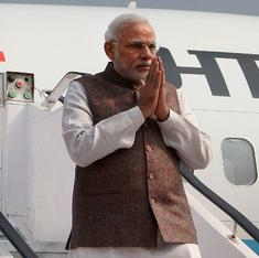 This map shows just how many foreign leaders Modi will be meeting in the next 10 days