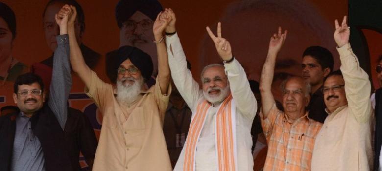पंजाब में त्रिकोणीय हो चुकी लड़ाई में अकाली दल-भाजपा की रणनीति क्या होने जा रही है?