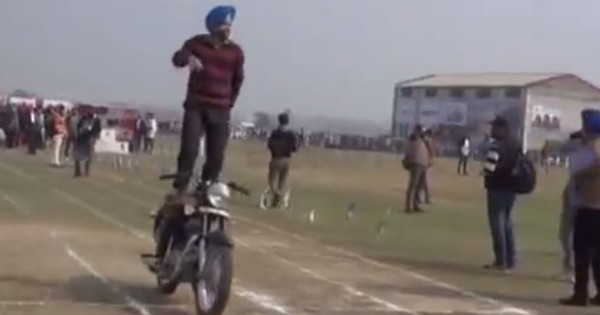 Faster. Higher. Stronger. Weirder. Watch these incredible feats at India's Rural Olympics