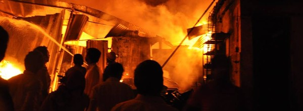 Non-profit Goonj's Delhi centre burnt down by stray firecracker