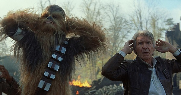 Laugh it up, Fuzzball: meets the Star Wars naysayers