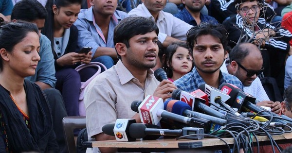 JNU lifts suspension of eight students including Kanhaiya Kumar