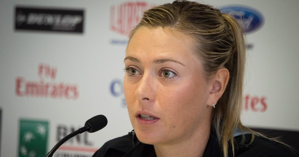 Tennis: Maria Sharapova, suspended for doping, is in Russia's Olympics squad