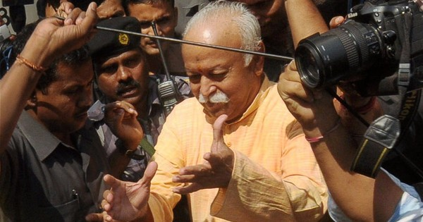 Nobody should be forced to chant 'Bharat Mata ki jai', says RSS chief Mohan Bhagwat