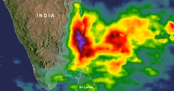 This NASA video shows you just how intense the deadly Chennai rains were