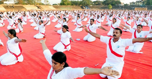 Red posture: Communist party promotes yoga in Kerala ‒ but leaves out 'Om' chants