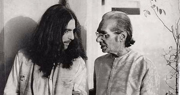 How I  got George Harrison all peeved in Calcutta in 1976