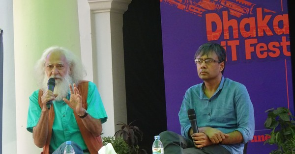 Photographs: How the colours of the Dhaka Lit Fest put out the darkness of anxiety