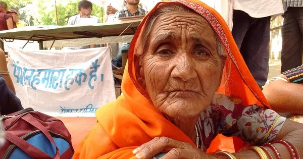 Rural elderly send Modi Rs 7 – a day's pension – to protest stagnant social benefits
