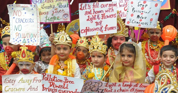 Would banning Diwali crackers really infringe religious rights?
