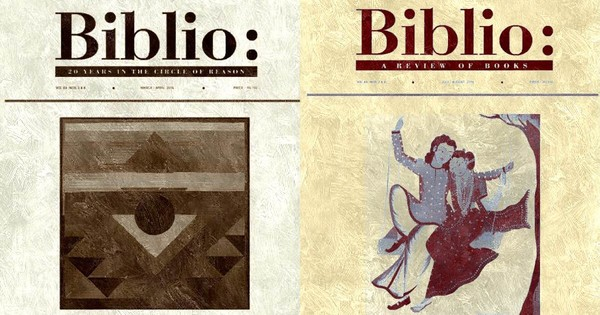 Twenty years of 'Biblio': Serving up book reviews in the face of heavy odds