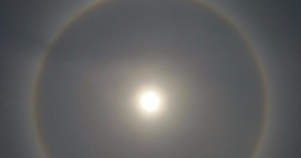 Halo from the other side: As Kolkata voted, the sun was encircled by a 'rainbow'