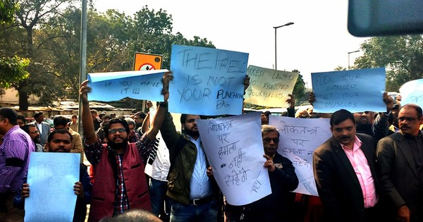 'Insidious intimidation': Delhi police knock on the doors of journalists covering the JNU row