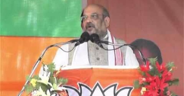 Amit Shah goofs up in Assam, says 13th century king chased Mughals out of the state: Watch