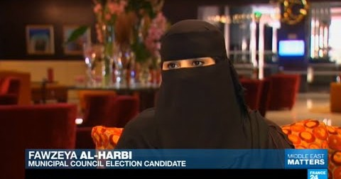 Women in Saudi Arabia are running for elections and voting for the first time
