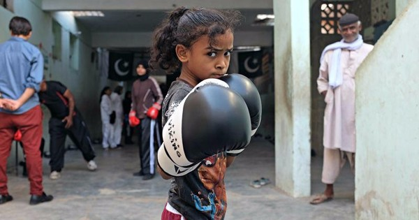 In pictures: Girls in Pakistan aim for the international arena, one punch at a time