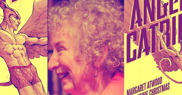 Four reasons we're excited about Margaret Atwood's comics debut 'Angel Catbird'