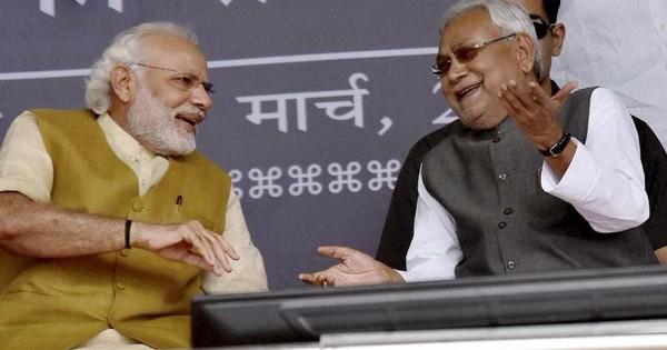 What explains Narendra Modi's sudden bonhomie with Nitish Kumar?