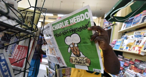 Two Turkish journalists jailed for publishing Charlie Hebdo's controversial Prophet Mohammed cartoon