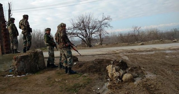 At least 5 killed in ongoing encounter in Jammu and Kashmir