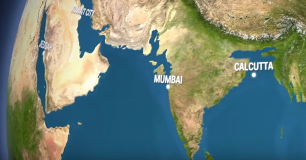 These chilling videos show you what the Earth would look like if all the ice melted